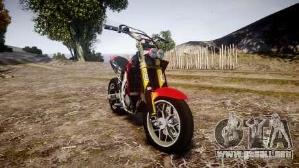 Yamaha YZF-450 SuperMoto Custom para GTA 4