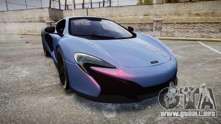 McLaren 650S Spider 2014 [EPM] Michelin v5 para GTA 4