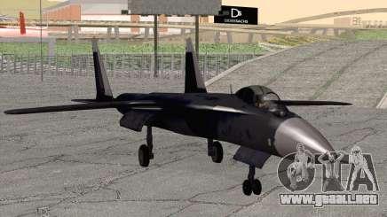 Sukhoi SU-47 Berkut from H.A.W.X. 2 para GTA San Andreas