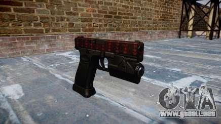 Pistola Glock 20 el arte de la guerra para GTA 4