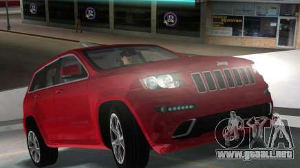 Jeep Grand Cherokee SRT-8 (WK2) 2012 para GTA Vice City