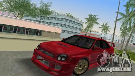 Subaru Impreza WRX 2002 Type 6 para GTA Vice City