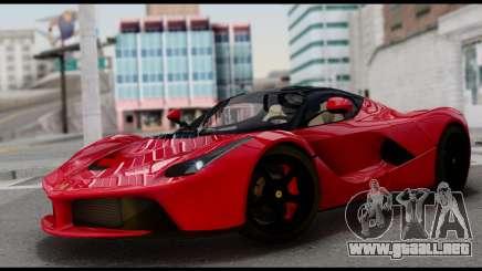 Ferrari LaFerrari 2014 (IVF) para GTA San Andreas