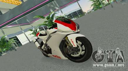Aprilia RSV4 2009 Gray Edition para GTA Vice City