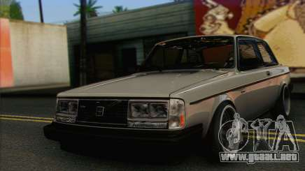 Volvo 242 Stance Works para GTA San Andreas