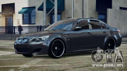 BMW M5 E60 v1 para GTA 4