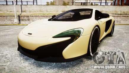 McLaren 650S Spider 2014 [EPM] Yokohama ADVAN v3 para GTA 4