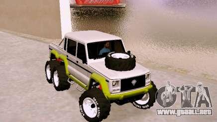 Benefactor Dubsta 6x6 para GTA San Andreas