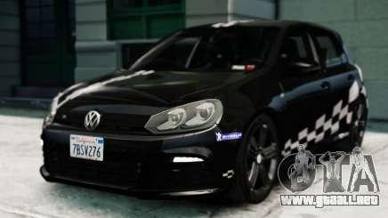 Volkswagen Golf R 2010 MTM Paintjob para GTA 4