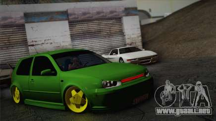 Volkswagen Golf 4 R32 Low v2 para GTA San Andreas