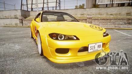 Nissan Silvia S15 Street Drift [Updated] para GTA 4