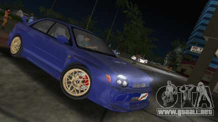 Subaru Impreza WRX 2002 Type 2 para GTA Vice City