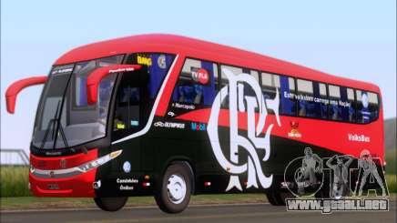 Marcopolo Paradiso 1200 G7 4X2 C.R.F Flamengo para GTA San Andreas