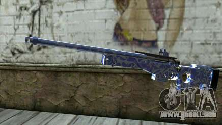 Graffiti Rifle para GTA San Andreas