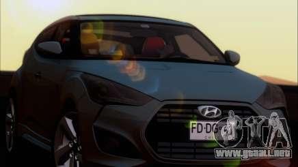 Hyundai Veloster 2013 para GTA San Andreas