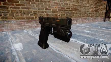 Pistola Glock 20 ce digital para GTA 4