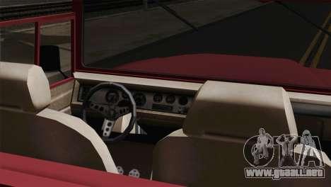 Canis Bodhi V1.0 Clean para GTA San Andreas vista posterior izquierda