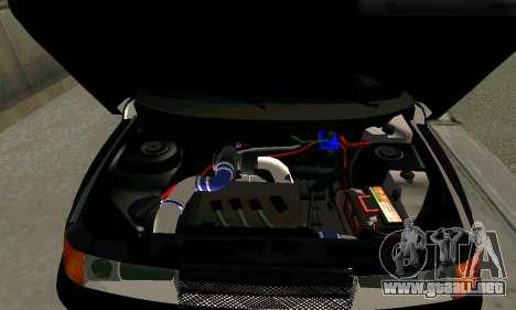 VAZ 21123 Chernysh para GTA San Andreas vista posterior izquierda