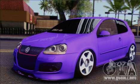 Volkswagen Golf Mk5 GTi Turkish Tuned para GTA San Andreas