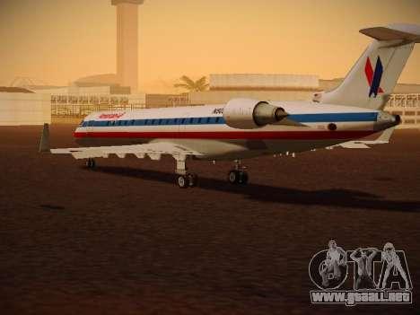 Bombardier CRJ-700 American Eagle para la visión correcta GTA San Andreas
