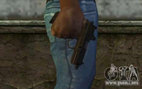 FN FNP-45 Con la Vista para GTA San Andreas tercera pantalla