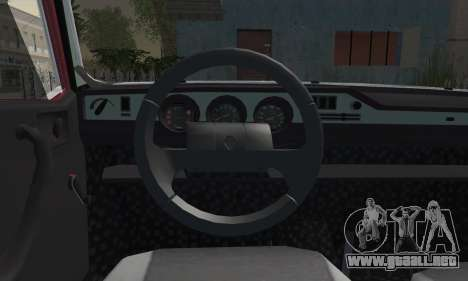 Renault TX Turkish Modifed para GTA San Andreas vista posterior izquierda