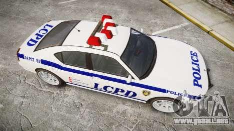 Bravado Buffalo Police para GTA 4 visión correcta