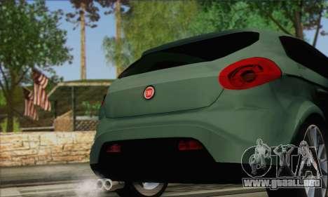 Fiat Bravo 2 para GTA San Andreas vista posterior izquierda