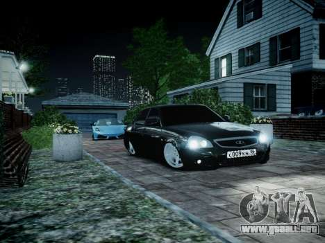 VAZ 2170 para GTA 4 left