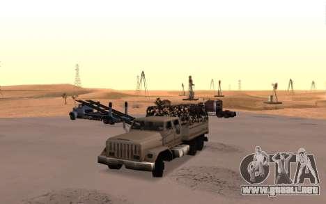 Cuartel con cuatro puertas para GTA San Andreas