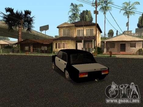 ESTOS 2107 Hobo para GTA San Andreas vista posterior izquierda