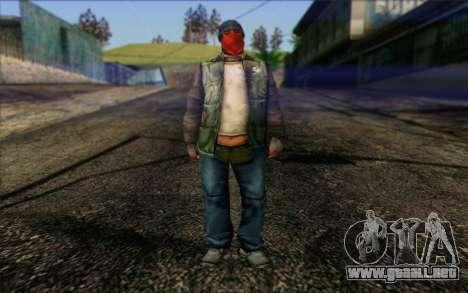 Vagabonds Skin 1 para GTA San Andreas