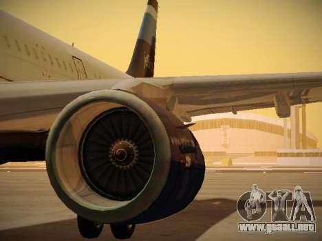 Airbus A321-232 Big Blue Bus para el motor de GTA San Andreas
