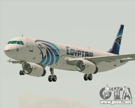 Airbus A321-200 EgyptAir para GTA San Andreas
