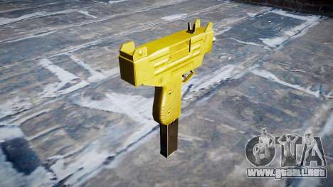 Golden Uzi para GTA 4 segundos de pantalla