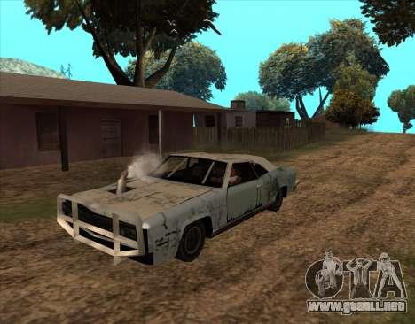 Post-Apocalíptico Bucanero para GTA San Andreas