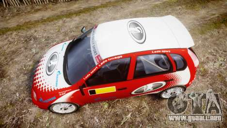 VAZ-Kalina 1119 RallyCross para GTA 4 visión correcta