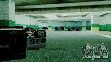 La reactivación de todas las comisarías de polic para GTA San Andreas novena de pantalla