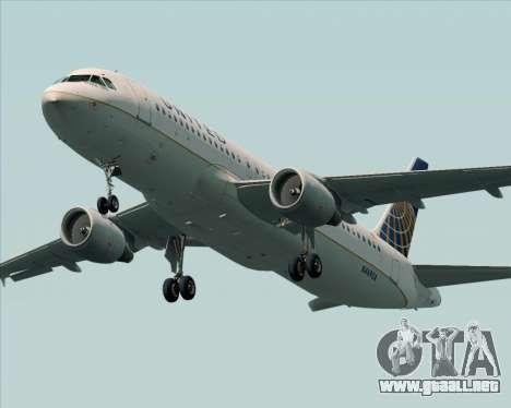 Airbus A320-232 United Airlines para el motor de GTA San Andreas
