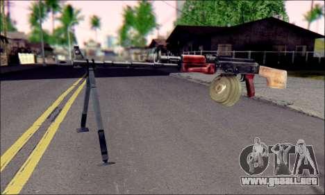 RPK-74 de ArmA 2 para GTA San Andreas