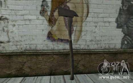 Fire axe (DayZ Standalone) v2 para GTA San Andreas