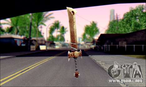 Меч (World Of Warcraft) para GTA San Andreas