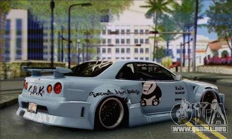 Nissan Skyline R-34 SDK Style para GTA San Andreas left