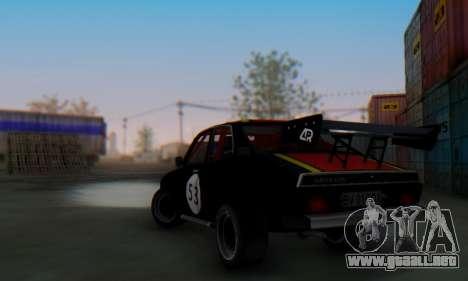 Dacia 1410 Sport para la visión correcta GTA San Andreas