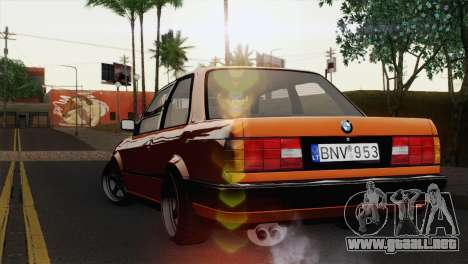 BMW M3 E30 Coupe 1987 para GTA San Andreas left
