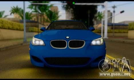 BMW M5 E60 2006 para la visión correcta GTA San Andreas