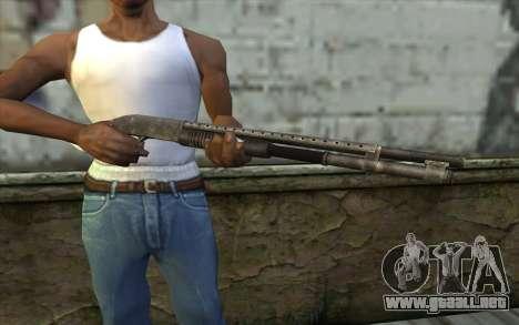 Mossberg 500 from Battlefield: Vietnam para GTA San Andreas tercera pantalla