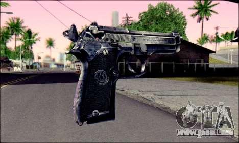 Beretta 92 para GTA San Andreas segunda pantalla