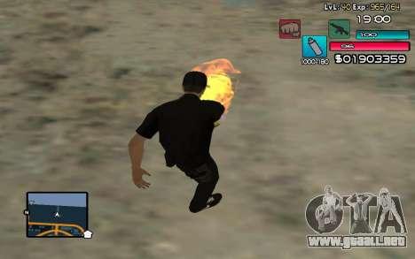 C-HUD by SampHack v.14 para GTA San Andreas