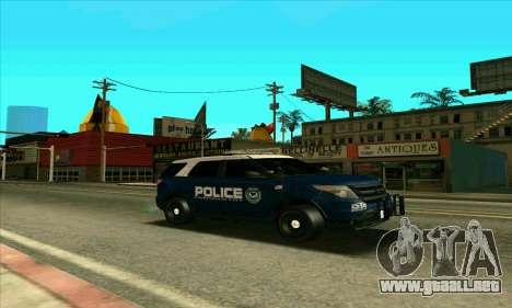 FCPD Ford Explorer 2013 para GTA San Andreas